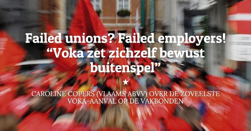 Failed unions? Failed employers!